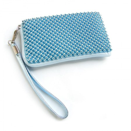 Husa Nokia N8 Aluminium Baby Blue Size L