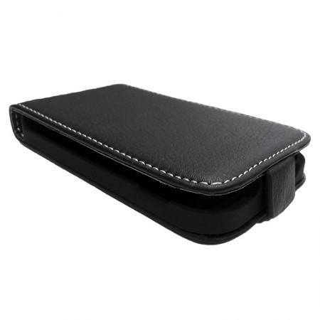Husa Iphone 4/4S Flip Up Premium (Black)