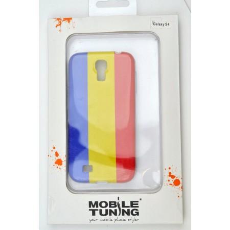 Husa TPU Samsung Galaxy S4 Romania Flag