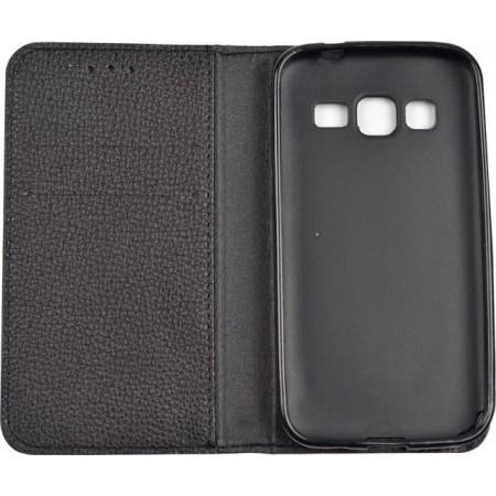 Husa Book Pocket Magnetic Lock Samsung Core Prime Black