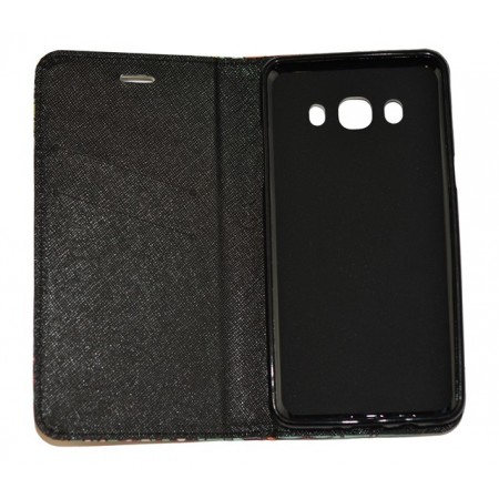 Husa Book Pocket Magnetic Lock pentru Samsung J5 2016, Model Personaje