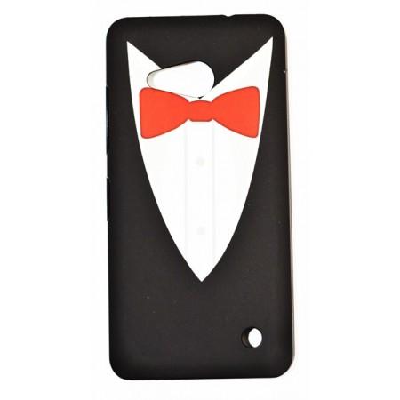 Capac Hard PC Lumia 550 Bow Tie
