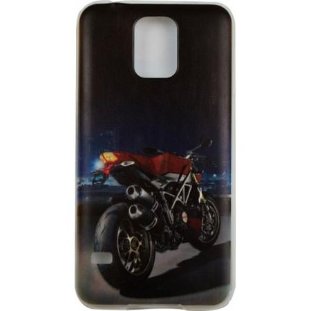 Husa TPU Samsung Galaxy S5 Model Motorcycle