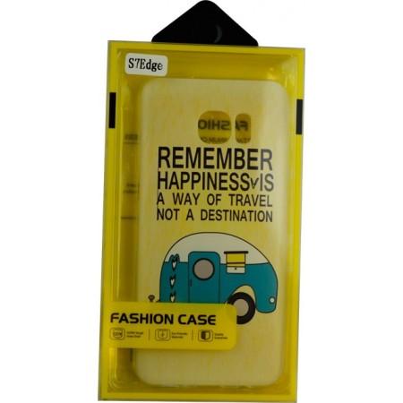 Husa TPU Samsung Galaxy S7 Edge Model Happiness