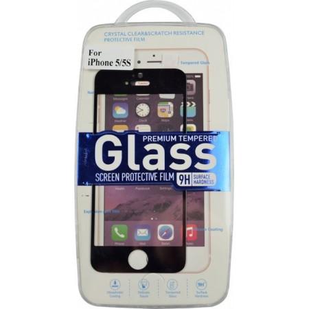 Folie sticla securizata Iphone 5 Black