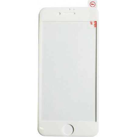 FOLIE STICLA SECURIZATA MARGINE  SILICONICA IPHONE 7 WHITE