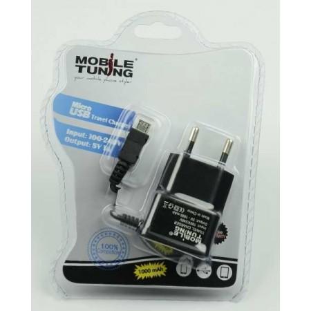 Incarcator Retea microUSB  1000 mAh blister