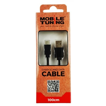 Cablu de date Mobile Tuning  USB Tip C, 1 m, Blister retail