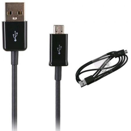 Cablu de date Samsung ECB-DU5ABE, microUSB, Negru,