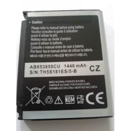 Acumulator Original Samsung AB653850CU pentru Galaxy I8000 Omnia II / Google Nexus S i9020A ,i9020T