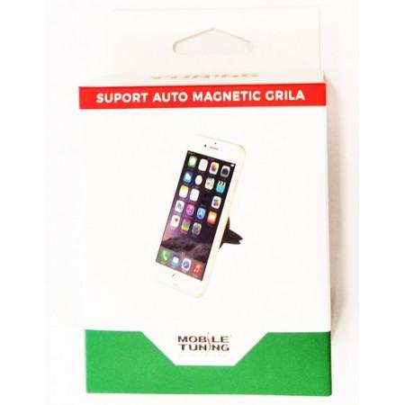 Suport auto pentru telefon, magnetic, atasabil sistemului de ventilatie