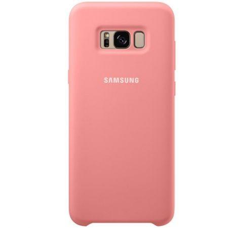 Capac protectie spate Silicone Cover Pink pentru Samsung Galaxy S8 Plus