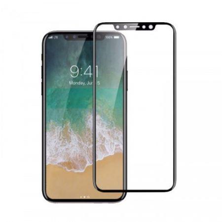 Folie protectie sticla securizata Iphone X, Full 3D,Black