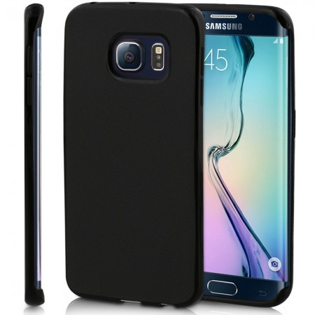 Husa TPU Silicon pentru Samsung Galaxy S7 Edge Negru