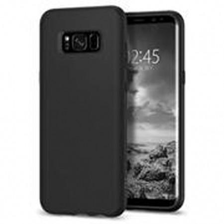 Husa de protectie  ultraslim pentru Samsung Galaxy S8, silicon, negru