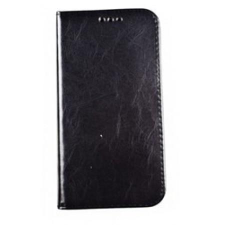 Husa Book Pocket Magnetic Lock Black  pentru Samsung J3 2017