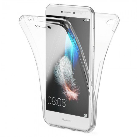 Husa 360 (fata+spate) silicon transparent  pentru Huawei  P9 Lite Mini