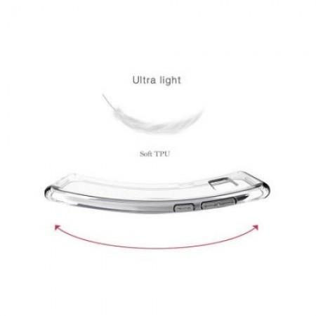 Husa 360 (fata+spate) silicon transparent  pentru Iphone 7/ Iphone8