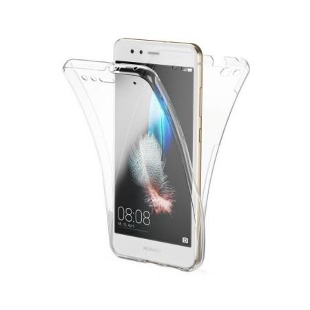 Husa 360 (fata+spate) silicon transparent  pentru Huawei P20 Lite