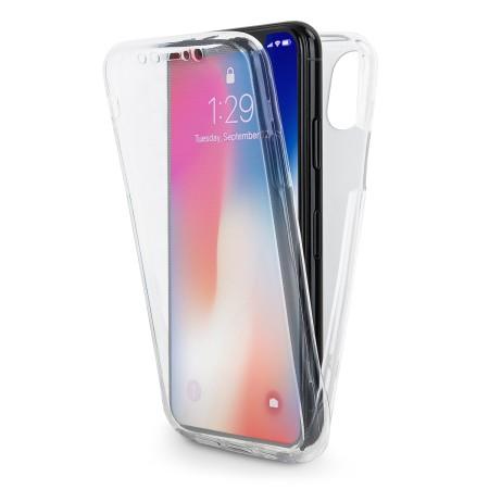 Husa 360 (fata+spate) silicon transparent  pentru Iphone 6/6S