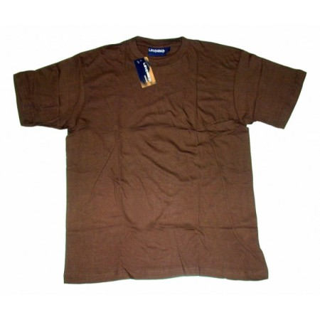 Tricou bumbac Levinsson Coffee Brown