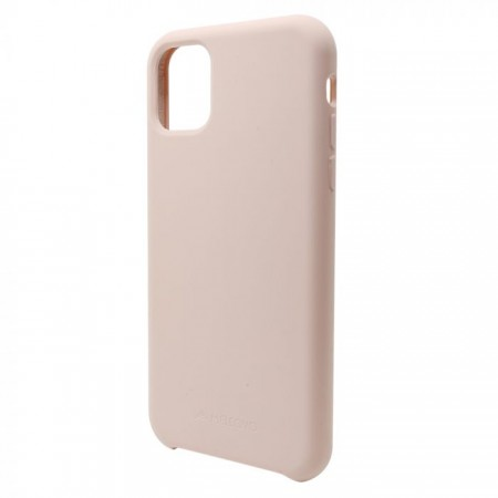 Husa pentru iPhone 11 Roz , Liquid Silicone, marime de 6.1 inch