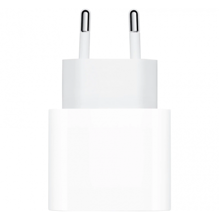 Incarcator retea Apple, MHJE3ZM/A, USB Type C, 20W, White