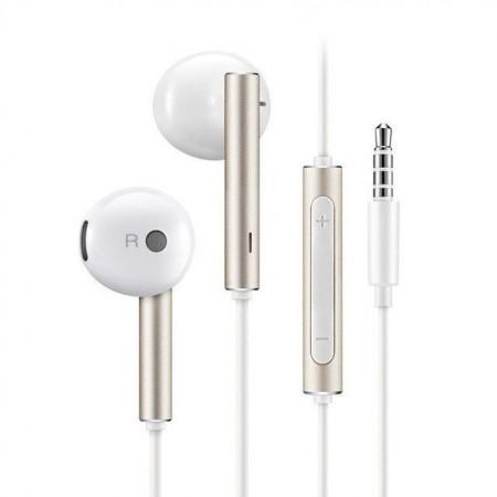 Casti Huawei cu microfon si volum control pentru Huawei 3.5 mm Jack Silver AM116