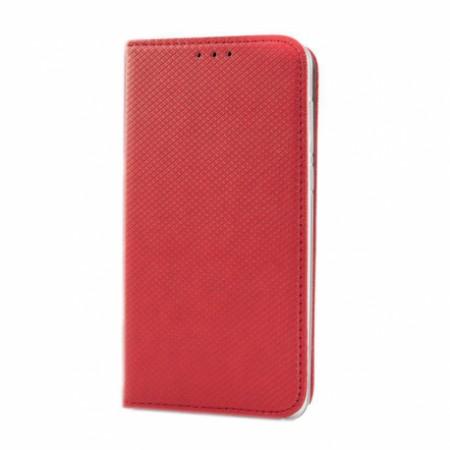 Husa Book Pocket Magnetic Lock Rosu Samsung Galaxy A21S
