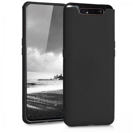 Husa TPU Silicon pentru Samsung A80 Negru