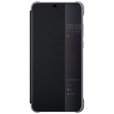 Husa Flip Book Smart View Cover Samsung A6 Plus, Black