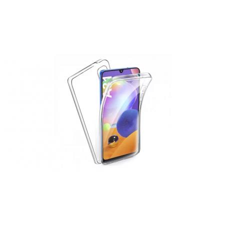 Husa 360 (fata+spate) silicon transparent pentru Samsung A31
