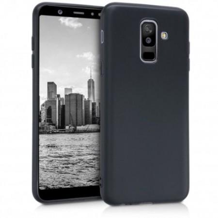 Husa TPU Silicon pentru Samsung A6 Plus 2018 Negru