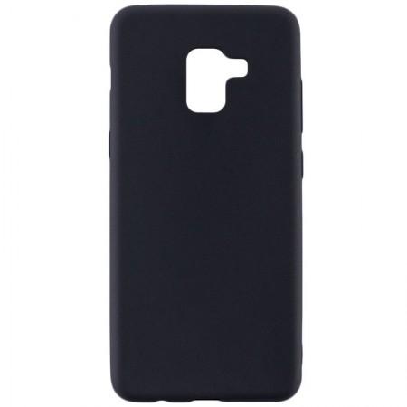 Husa TPU Silicon pentru Samsung A8 Plus 2018 Negru