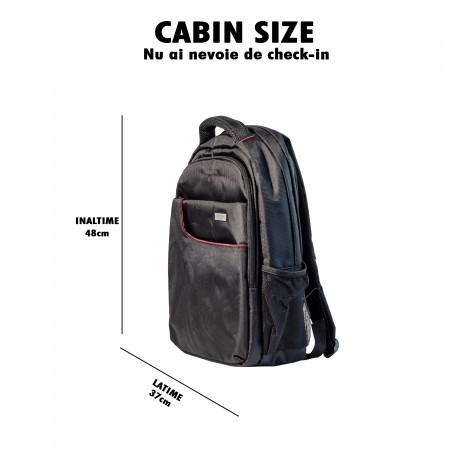 Rucsac laptop si tableta Mobile Tuning , 16 inch, antisoc, negru