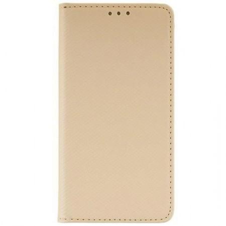 Husa Book Pocket Magnetic Lock Auriu Samsung Galaxy A51