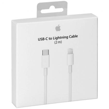 Cablu de date Apple USB Type-C - Lightning MKQ42AM/A / A1702 2m - White Blister Apple