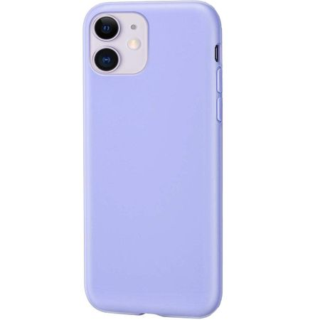 Husa pentru iPhone 11 Pro Mov , Liquid Silicone, marime de 5.8 inch