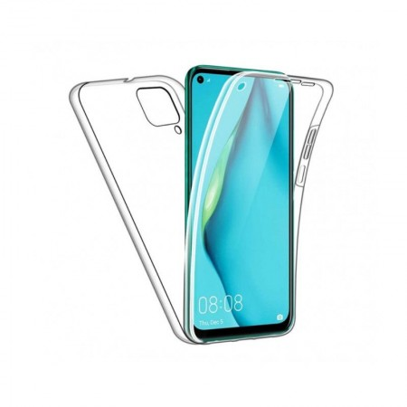 Husa 360 (fata+spate) silicon transparent pentru Huawei P40 Lite