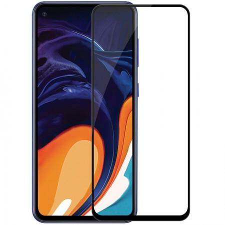 Folie sticla securizata Samsung Galaxy A60, 9D, Full Glue, Negru