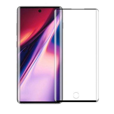 Folie sticla securizata Samsung Note 10 Plus, 9D, Full Glue, Negru