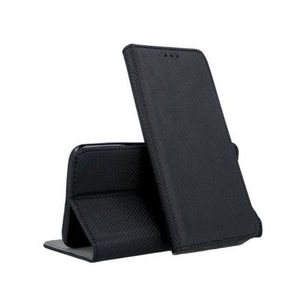 Husa Book Pocket Magnetic Lock Black pentru Huawei P40 Lite E