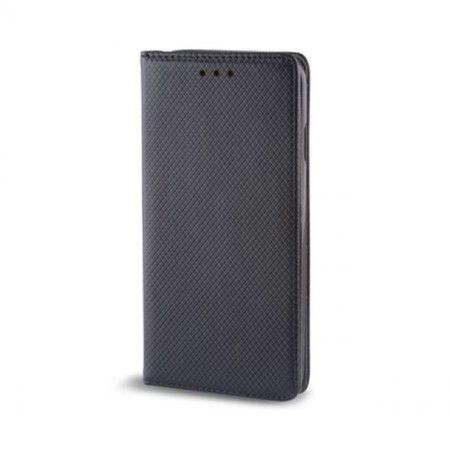 Husa Book Pocket Magnetic Lock Black pentru Samsung A51 5G