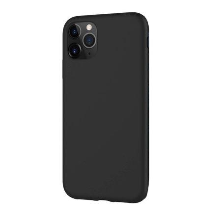 Husa pentru iPhone 11 Pro Negru , Liquid Silicone, marime de 5.8 inch