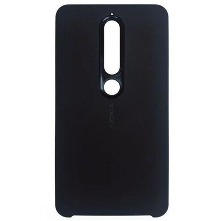 Husa TPU Silicon pentru Nokia 6.1 Negru