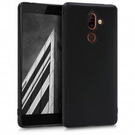 Husa TPU Silicon pentru Nokia 7 Plus Negru