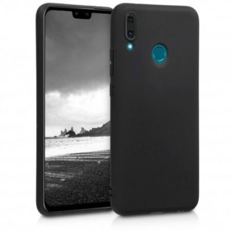 Husa TPU Silicon pentru Huawei Y9 2019 Negru