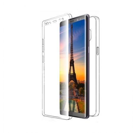 Husa 360 (fata+spate) silicon transparent pentru Samsung Note 10