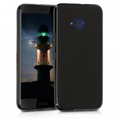 Husa de protectie ultraslim pentru HTC U11 Life, silicon, negru