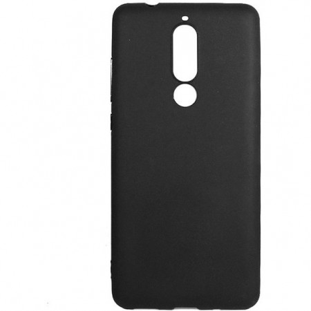 Husa TPU Silicon pentru Nokia 5.1 Plus Negru